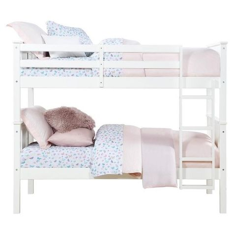 Dylan Twin Over Twin Wood Bunk Bed Dorel Living Target Wood Bunk Beds Twin Bunk Beds Bunk Beds