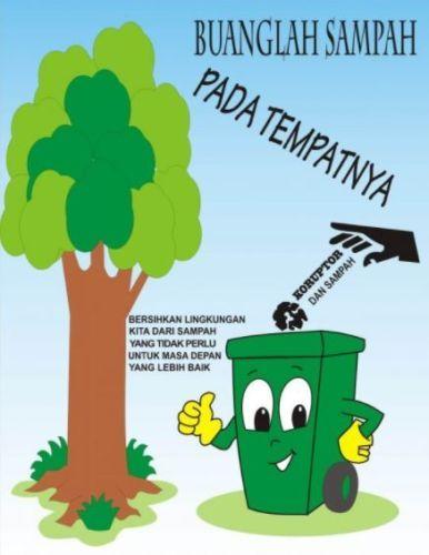 200 Contoh Gambar Poster Dan Slogan Bertema Lingkungan Hidup Poster Gambar Lingkungan Hidup