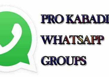 Latest pro kabaddi WhatsApp Group Links | Whatsapp Groups in