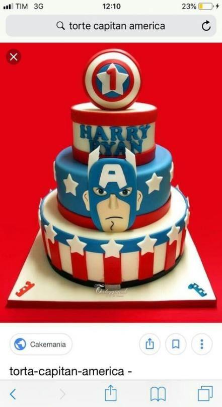 Trendy Cake Birthday Boy Super Heros Captain America 41 Ideas Captain America Birthday Cake Birthday Cake Kids Captain America Cake