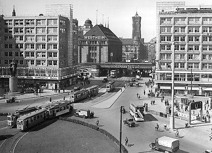 Alexanderplatz 1934 Historische Bilder Berlin Geschichte Historische Fotos