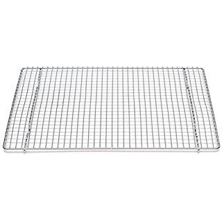 Professional Cross Wire Cooling Rack Half Sheet Pan Grate 16 1 2 X 12 Drip Screen 2 Pack Baking Sheets Half Sheet Pan Nordic Ware