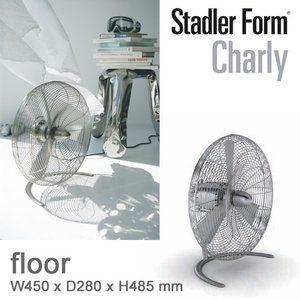 サーキュレーター おしゃれ 首振り レトロ メタル リビング 扇風機 Stadler Form チャーリースイングファン フロア チャーリーファン リビング 扇風機 扇風機 サーキュレーター