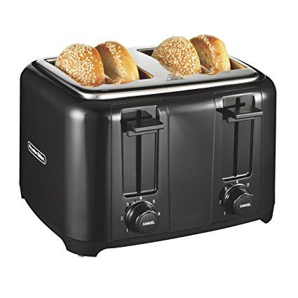 Proctor Silex 24215 Toaster With Wide Slots Toast Boost 4 Slice Black Review Toaster Proctor Silex Pop Up Toaster