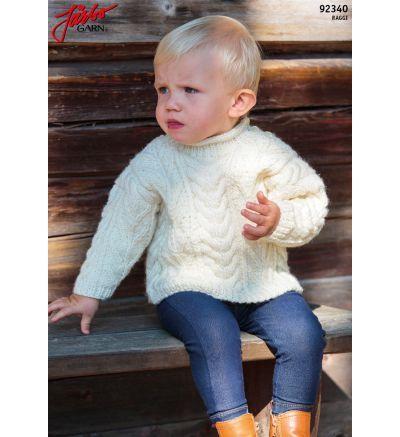Gratis stickmönster och virkmönster från Järbo Garn | Baby