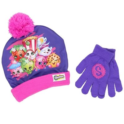 SHOPKINS DONUT BEANIE HAT NEW!