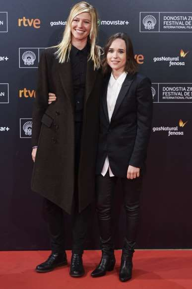 Celeb Splits Of 2017 Ellen Page Was Photographed Kissing Emma Portner A Broadway Dance Center Instructor Who St In 2020 Ellen Page Secretly Married New Girlfriend