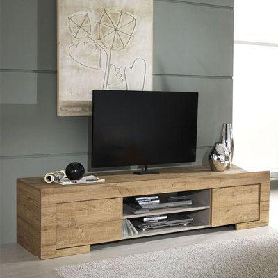 Meuble Tv Contemporain Bois Meuble Tele Moderne Banc Tv Bois En 2020 Meuble Meuble Tv Bois Meuble Tv