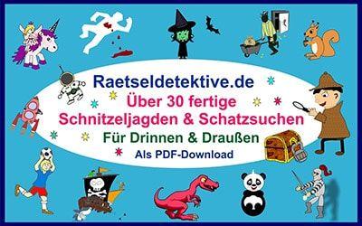 Schnitzeljagd Kindergeburtstag Pdf Download In 2020