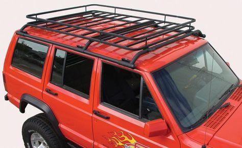 Jeep Cherokee Xj Cargo Rack The Top Hat Rack With Images Jeep Cherokee Roof Rack Jeep Cherokee Xj Jeep Xj