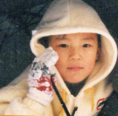 Monsta X Minhyuk Baby Photo In 2020 Monsta X Minhyuk Monsta X Winter Hats