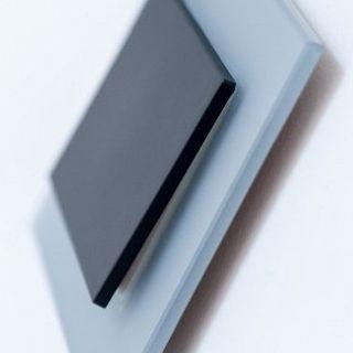 Interrupteur Design Modern Rectangle Gris Bleu Mat Noir Ecoome Verre Mat Interrupteur Design Interrupteurs Prise Interrupteur