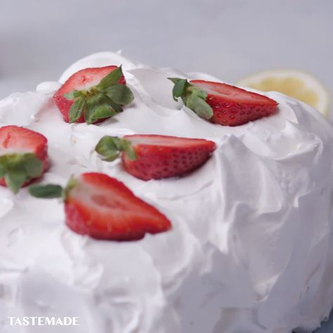 What do you get when you combine fresh strawberries, fluffy shortcake and whipped cream made with lactose free Lactaid® Milk? A sweet, layered dessert that everyone can enjoy, even if you are sensitive to dairy! #ad