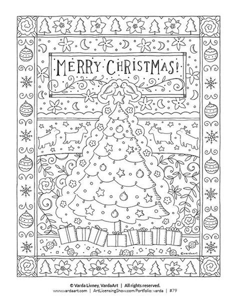 Free 92 Page Holiday Coloring Book Artlicensingshow Com Your 24 7 Virtual Art Licensing Show Holiday Coloring Book Christmas Colors Coloring Books