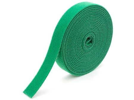 1 2 Inch Continuous Green Hook And Loop Wrap 25 Yards Hook Loop Tape Velcro Cable Ties Velcro Tape