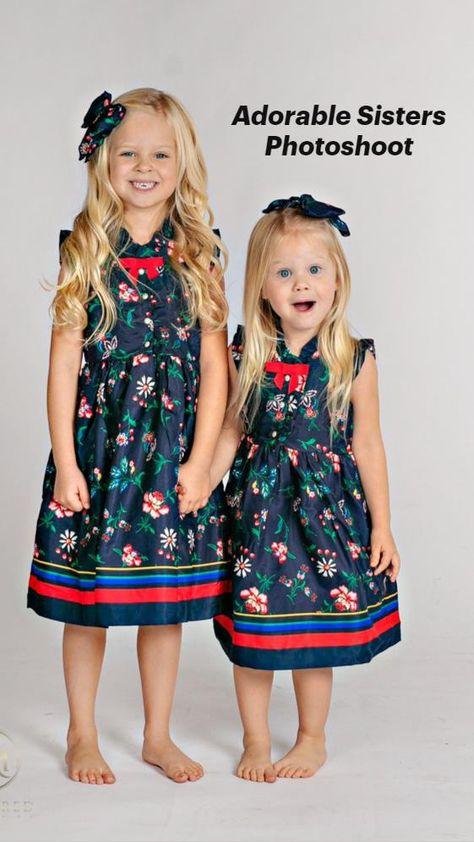 Adorable Sisters Photoshoot