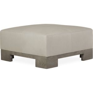 L9006 90 Leather Cocktail Ottoman At Lee Industries Leather