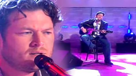 Blake Shelton - She Wouldn't Be Gone (Live on Today Show) (VIDEO)