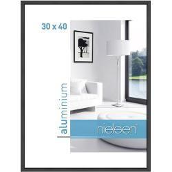 Nielsen Bilderrahmen Classic Schwarz 30 X 40 Cm Aluminium