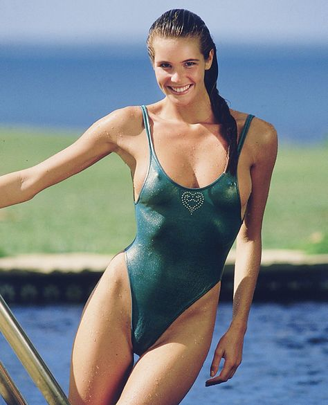 """ELLE MACPHERSON, 24: THEN A leggy blonde Australian known within the industry as """"The Body,"""" Macpherson appeared on the cover of the Sports Illustrated Swimsuit Issue a record five times. She also kept a foot in the high-fashion world, walking runways for designers like Azzedine Alaia and John Galliano."""
