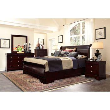 costco: palisades 6-piece king bedroom set | lake house ideas