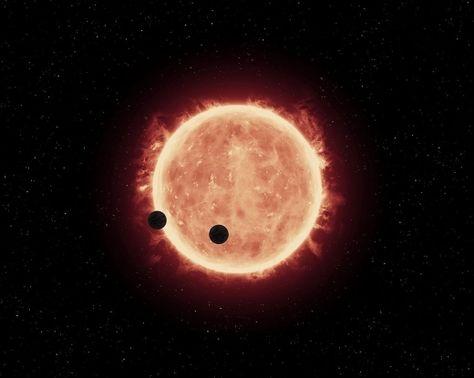RELATIVE sun /& planet sizes poster EDUCATIONAL comparative 24X36 scientific