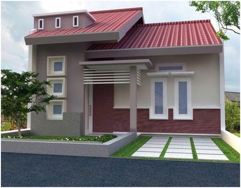 model desain rumah minimalis 1 lantai mewah nyaman elegan