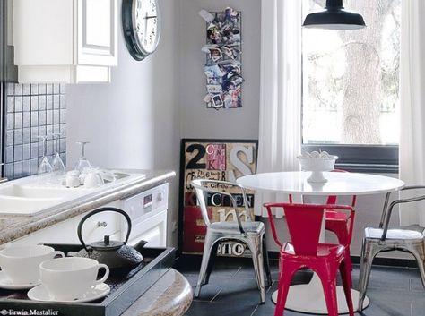 sillas de cocina modernas | cortinas | Pinterest | Cocinas, Sillas ...