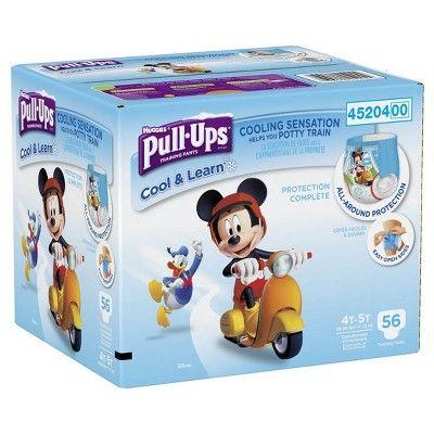 Huggies Pull Ups Boys Cool Learn Training Pants Size 4t 5t 56ct Huggies Pull Ups Training Pants Pull Ups