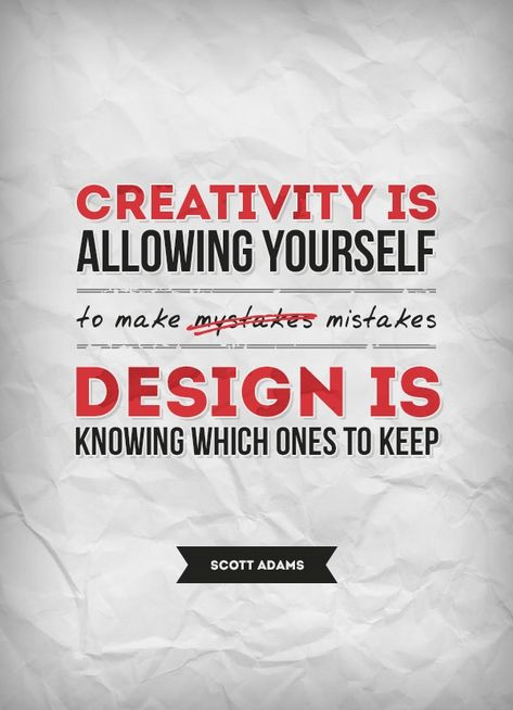 Love this #quote on creativity and design.