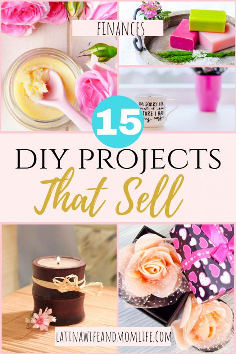 15 DIY Projects That Sell (Realistic and Fun for SAHMs)