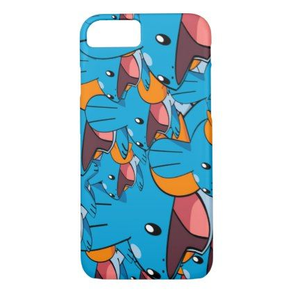mudkip pokemon pattern iphone 8 7 case pattern sample design