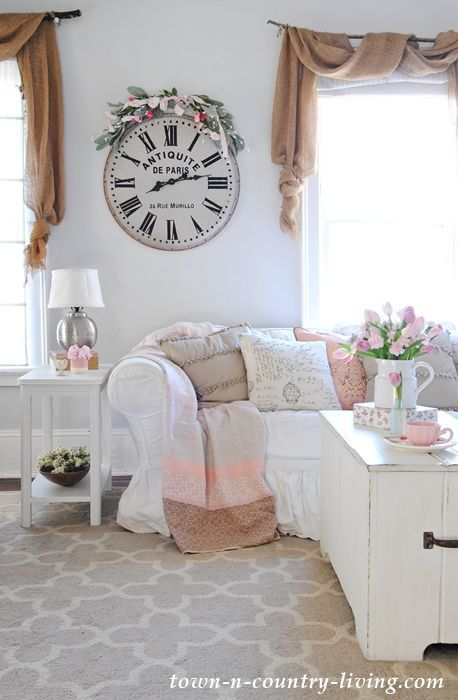 Spring Home Tour 2017 Welcome Friends Farm House Living Room Farmhouse Style Living Room Spring Living Room