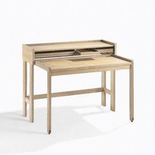 Lambert Modesto Sekretar Eiche Massiv Weiss Gekalkt A Design Schreibtisch Schreibtische Fur Kleine Raume Walnussholz