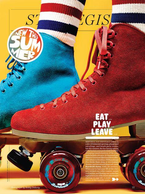Roller Skates for New York Magazine