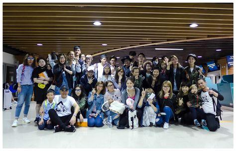 2016 hc group 年度員工旅遊正式開始 希望五天四夜大阪 京都之旅夥伴們都能留下美好的回憶 另外因工作無法參與的夥伴們 我們會把歡樂帶回來感染您們的 祝大家週一愉快