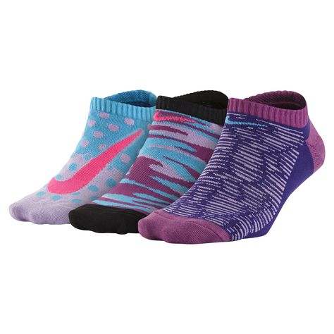 outlet for sale outlet store get cheap Nike Graphic Lightweight No-Show Big Kids' Socks (3 Pair ...