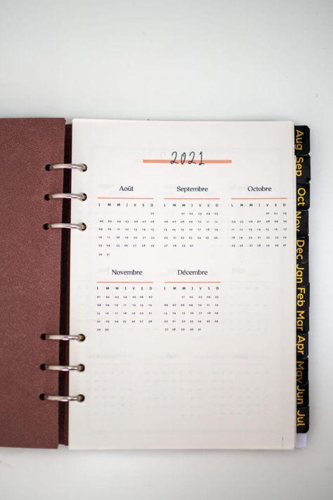 Planner 2021-2022 à télécharger gratuitement !