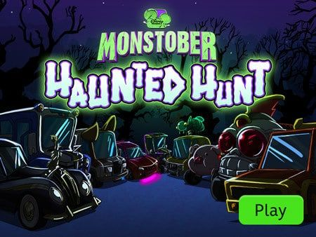 Monstober Haunted Hunt Disney Games Disney Funny Disney