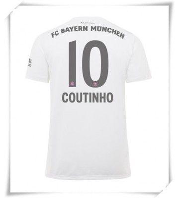 Bayern Munchen Philippe Coutinho #10 Replika Udebanetrøje 2019-20 ...