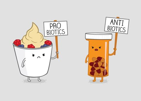 Funny pictures about Probiotics Vs. Oh, and cool pics about Probiotics Vs. Also, Probiotics Vs. Pharmacy Humor, Medical Humor, Nurse Humor, Pharmacy School, Pharmacy Quotes, Rn Nurse, Nurse Life, The Awkward Yeti, Science Puns