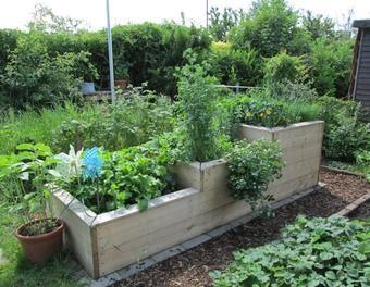 Hochbeet Aus Baudielen Garten Sagen Schrauben Hochbeet Aus Holz Garten