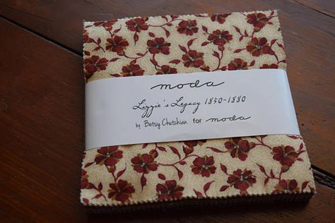 Lizzies Legacy 1850 1880 Charm Pack 42 5 X 5 Squares By Betsy
