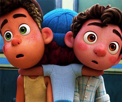 Pixar Luca alberto | Tumblr