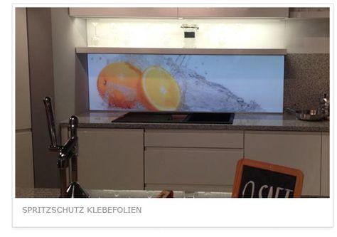 Küchenrückwand Klebefolien Pinterest - klebefolien küche spritzschutz