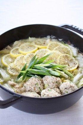 鍋 レシピ レモン