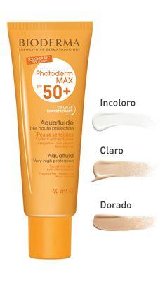Disponible En Tres Tonos Incoloro Claro Y Dorado Sin Perfume Sin Parabenos Resiste Al Agua Hipoaler Tratamientos De Belleza Cremas Para La Cara Piel Sensible