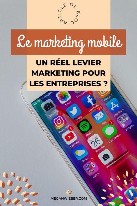 Le marketing mobile pour les entreprises - MW