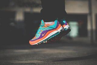 air max 98 orange blue purple