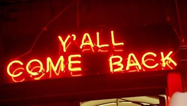 'Y'all come back' Neon. A very Southern greeting! Southern Pride, Southern Sayings, Southern Girls, Southern Comfort, Southern Charm, Southern Belle, Country Girls, Sassy Sayings, Southern Gentleman